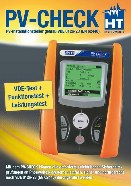 PV-Installationstester