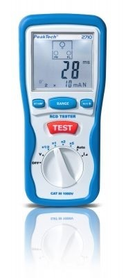 RCD Tester PeakTech 2710