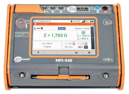 MPI-540 Installationstester